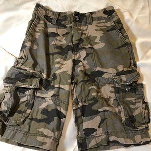 {Mossimo} Camo cargo shorts